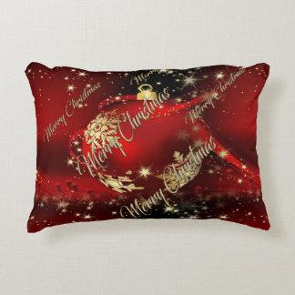 Feliz Natal e um feliz ano novo Almofada Decorativa