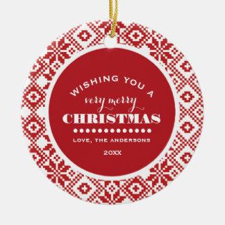 Feliz Natal. Enfeites de natal feitos sob