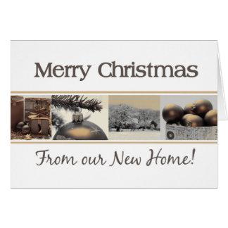 Feliz Natal Home novo do anúncio