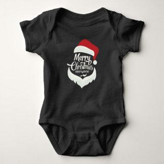 Feliz Natal todos Body Para Bebê