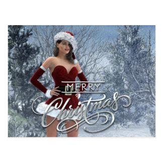 Feliz Natal Vicky Cartão Postal