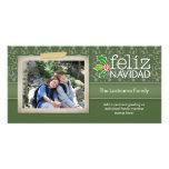 Feliz Navidad - 1 foto Cartão Com Foto