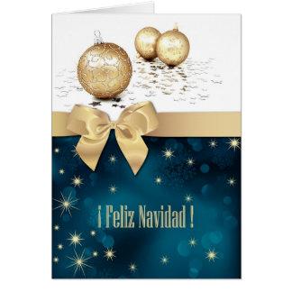 Feliz Navidad. Cartões de Natal espanhóis