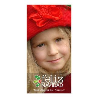 Feliz Navidad: Uma grande foto Cartao Com Fotos Personalizado