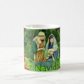 Feliz Navidid! Caneca De Café