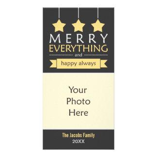 Feliz tudo cartoes com foto personalizados