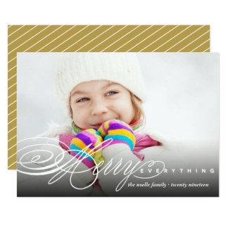 Feliz tudo cartão moderno do feriado da foto do