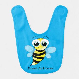 Felizes bonitos Bumble a abelha que o babador diz
