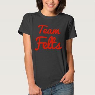 Feltros da equipe camisetas