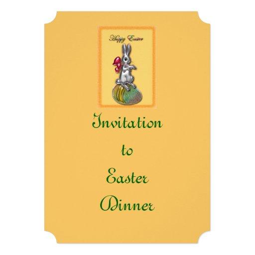 Felz pascoa #1 convite personalizados