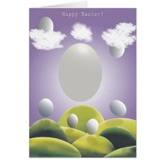 Felz pascoa! cartão comemorativo
