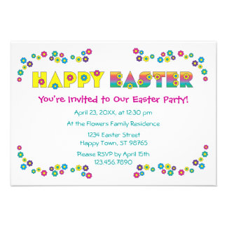 Felz pascoa convites personalizado