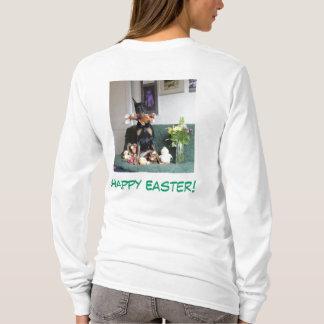 Felz pascoa do coletor do coelho camiseta