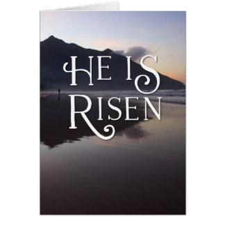 Felz pascoa religioso é cartão aumentado