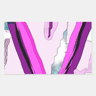 feminino adesivo retangular