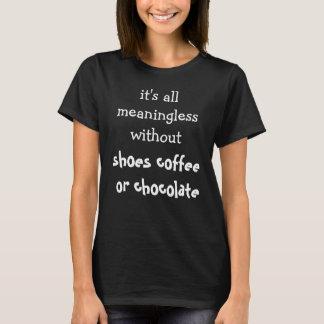 Feminino engraçado camiseta
