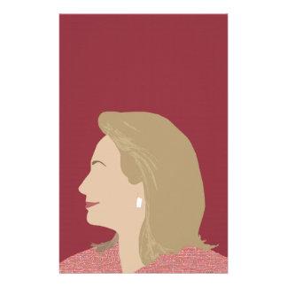 Feminista de Hillary Clinton Papelaria