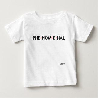 Fenomenal - uma palavra poderosa camiseta para bebê