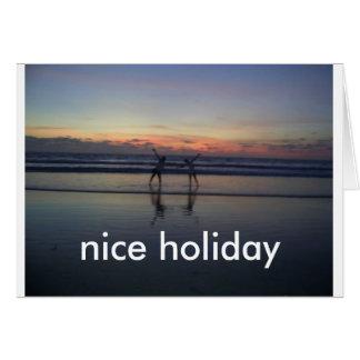 feriado cartão comemorativo