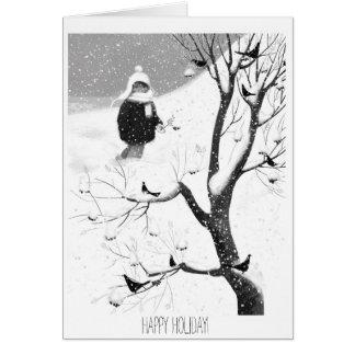 Feriado feliz! cartão comemorativo
