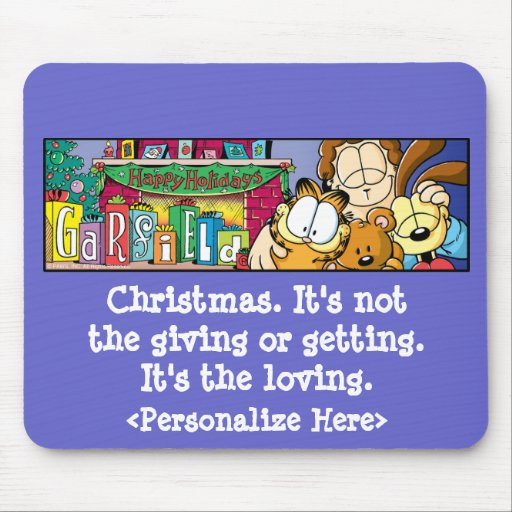 Feriados Loving Mousepad de Garfield Logobox