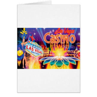 Férias de Las Vegas Cartão Comemorativo