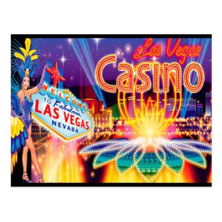 Férias de Las Vegas Cartão Postal