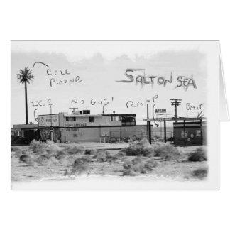 Férias Funky - mar de Salton Cartão Comemorativo