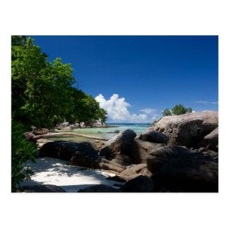Férias litorais da praia de Naturescape Cartão Postal