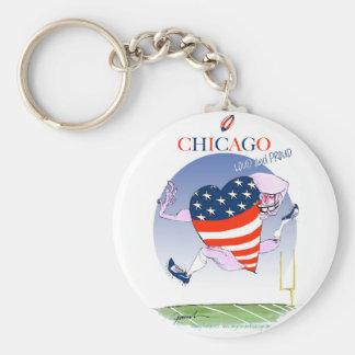 Fernandes tony altos e orgulhosos de Chicago, Chaveiro