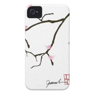 fernandes tony sakura com os 7 pássaros capa para iPhone 4 Case-Mate