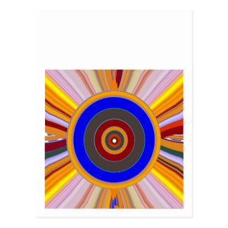 Ferramenta do FOCO: PONTO da roda de cor da Cartão Postal