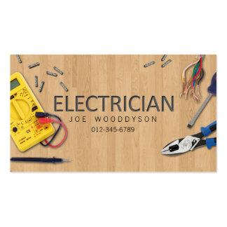 Ferramentas elétricas do cartão de visita do eletr
