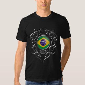 Ferro brasileiro tribal - obscuridade tshirt