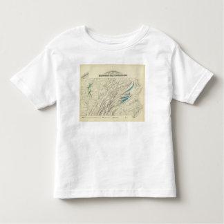 Ferro de Penn, carvão, petróleo, zinco T-shirts