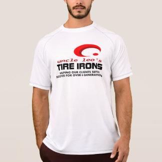 Ferro Folheado Reputação do tio Leo T-shirts