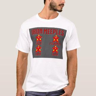 Ferro Meeples Camiseta