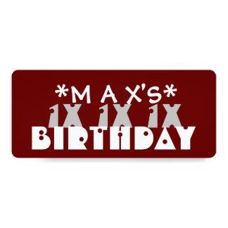 Festa de aniversário ADOLESCENTE feita sob Convite