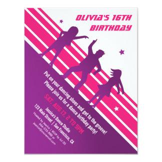 Festa de aniversário adolescente minimalista à convite 10.79 x 13.97cm