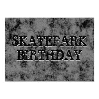 Festa de aniversário adolescente preta do menino convite 12.7 x 17.78cm