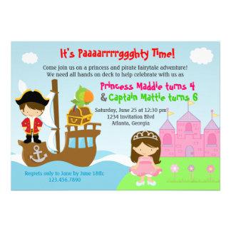 Festa de aniversário comum dos gêmeos da princesa