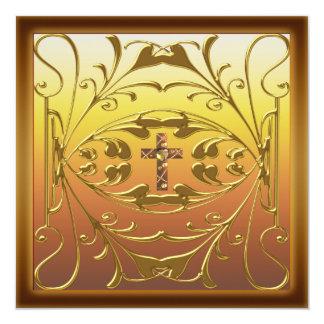 Festa de aniversário cristã Inv do casamento da Convite Personalizado