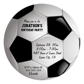 Festa de aniversário da bola de futebol do futebol