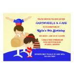 Festa de aniversário da ginástica dos Cartwheels e