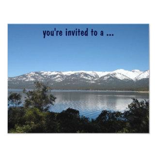 Festa de aniversário de Lake Tahoe! Convite 10.79 X 13.97cm