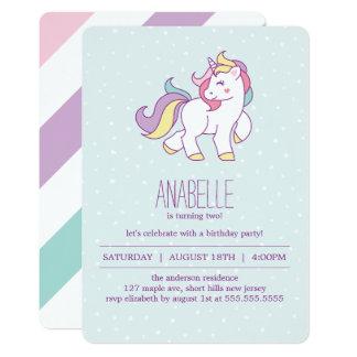 Unicorn Birthday Invitation was beautiful invitations template