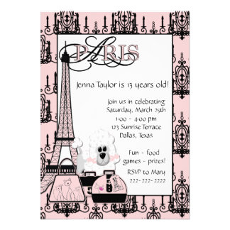 Festa de aniversario de meninas preta cor-de-rosa