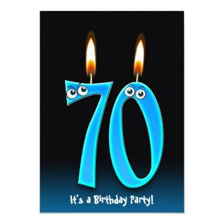 festa de aniversário do 70 convite
