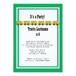 Festa de aniversário do auto escolar convites
