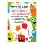 Festa de aniversário pequena BONITO da festança do Convite Personalizados